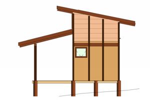 Fachada Casa Gaia